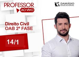 OAB 2ª Fase Civil  - Prof. Darlan Barroso - Exame XXIV Exame